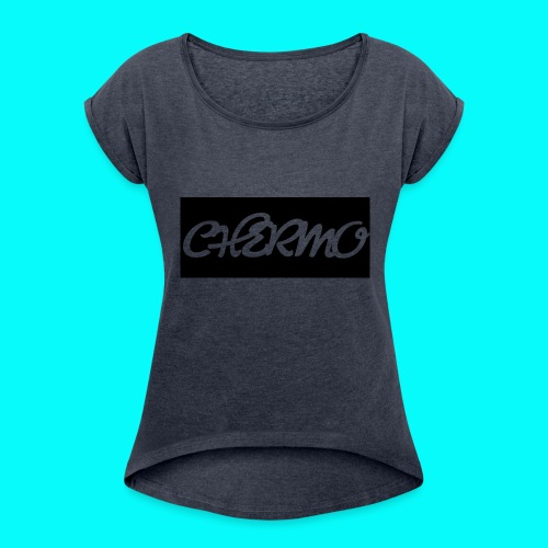 Chermos New Logo - Women's Roll Cuff T-Shirt
