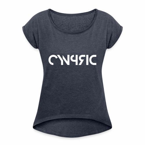 Cynprid Mech - Women's Roll Cuff T-Shirt