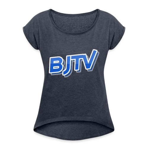 BJTV - Women's Roll Cuff T-Shirt