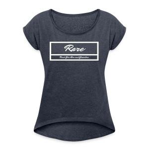 RARE Wht Label Women/ Girls - Women's Roll Cuff T-Shirt