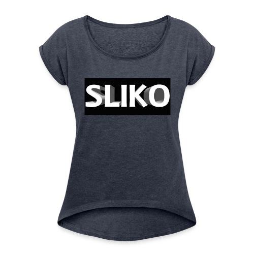 SLIKO - Women's Roll Cuff T-Shirt