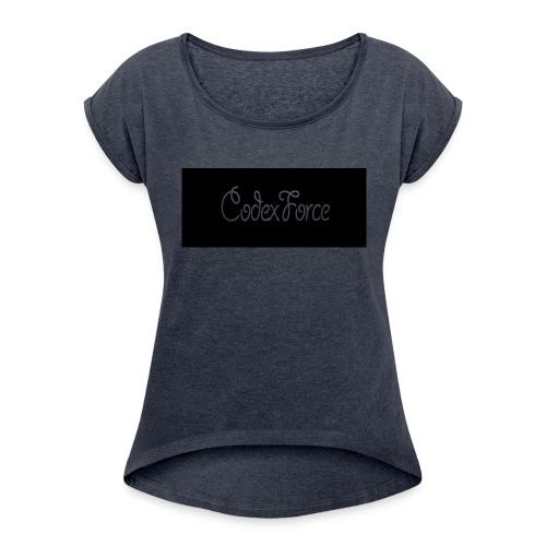 Codex Logo - Women's Roll Cuff T-Shirt