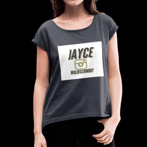 jayces main merch - Women's Roll Cuff T-Shirt