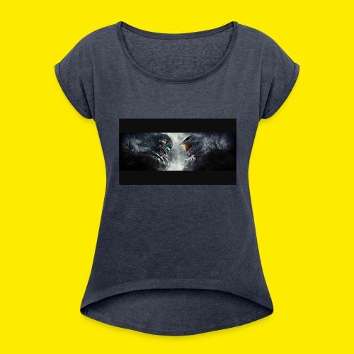 IMG 0812 - Women's Roll Cuff T-Shirt