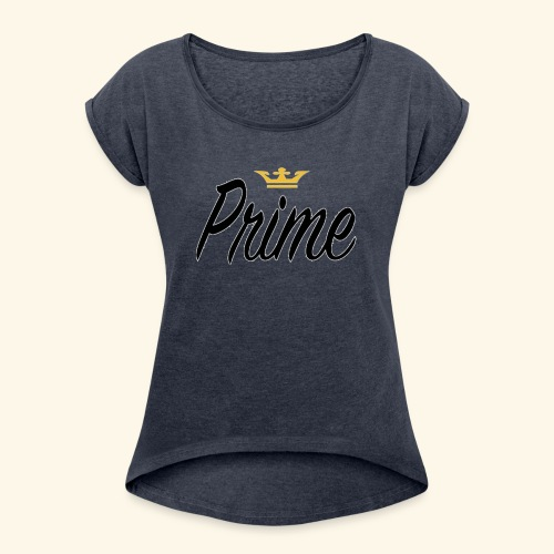 prime - Women's Roll Cuff T-Shirt