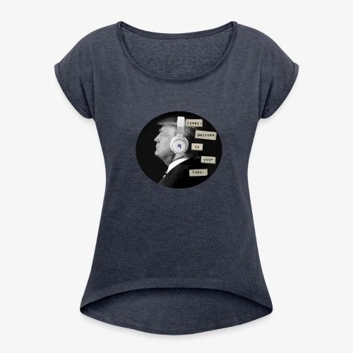 trump 13 reasons - Women's Roll Cuff T-Shirt