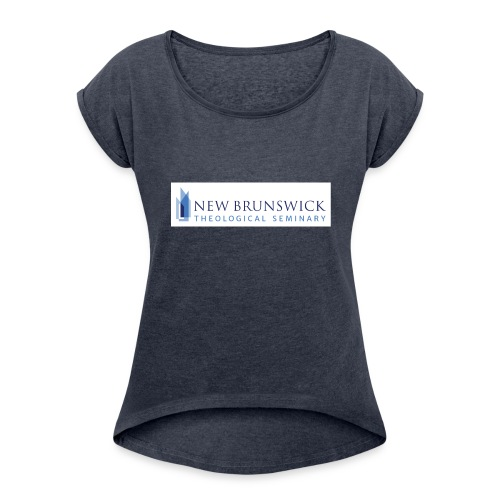 NBTS Logo - Collection 2 - Women's Roll Cuff T-Shirt