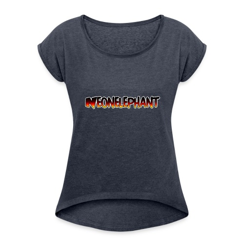 NEONELEPHANT - Women's Roll Cuff T-Shirt