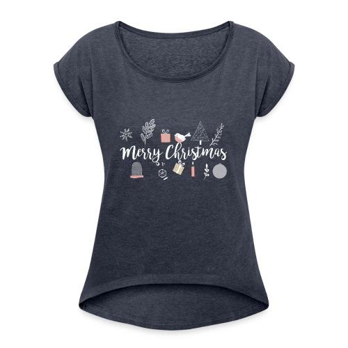 CHristmas gift - Women's Roll Cuff T-Shirt