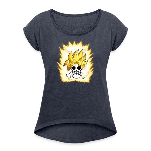 DBZ OnePiece - Women's Roll Cuff T-Shirt