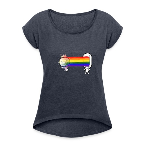 spew - Women's Roll Cuff T-Shirt