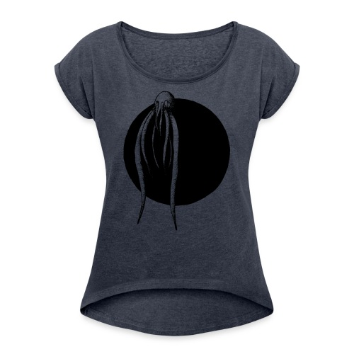 Octopus - Women's Roll Cuff T-Shirt