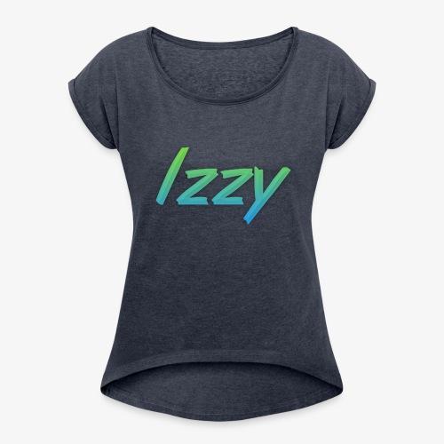 Izzy - Women's Roll Cuff T-Shirt
