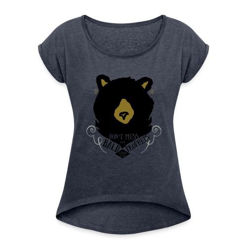 Elijah & The Bears - Women's Roll Cuff T-Shirt