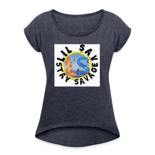 New Merch Design! - Women's Roll Cuff T-Shirt
