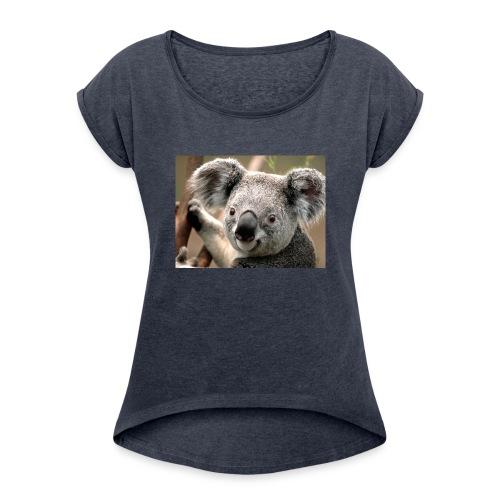 Koala - Women's Roll Cuff T-Shirt