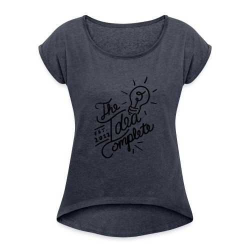 The Idea Complete Hand Drawn Tee - Women's Roll Cuff T-Shirt