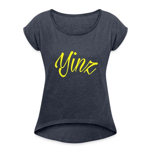 Hey Yinz Guys - Women's Roll Cuff T-Shirt
