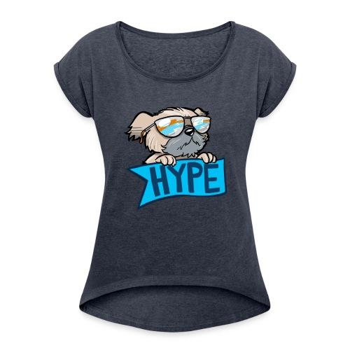 5537284 13587070 1 - Women's Roll Cuff T-Shirt