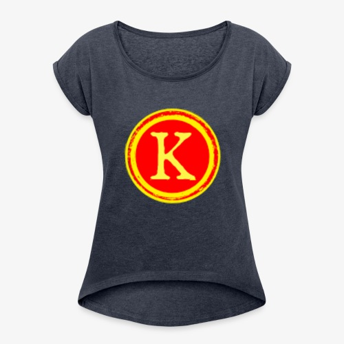 Kieththegod part of thecrafties - Women's Roll Cuff T-Shirt