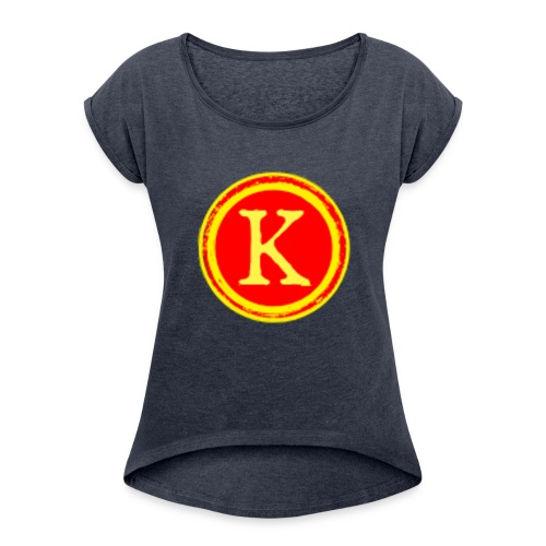 Kieththegod part of thecrafties - Women's Roll Cuff T-Shirt