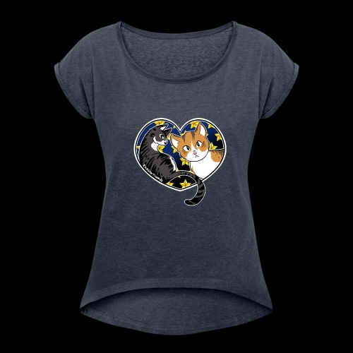Fredo and Ruby - Women's Roll Cuff T-Shirt