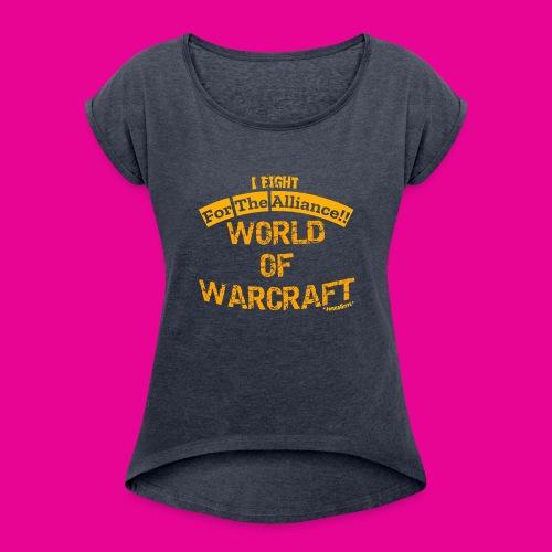 ForTheAlliance - Women's Roll Cuff T-Shirt