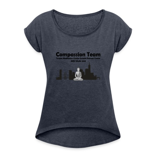 CompassionTeam2018 - Women's Roll Cuff T-Shirt