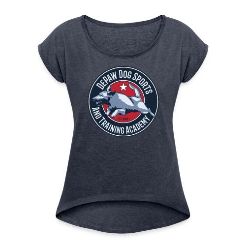DePaw Classic - Women's Roll Cuff T-Shirt