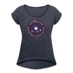 Corellian Engineering - Women's Roll Cuff T-Shirt