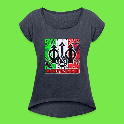 CJ Beretta - Women's Roll Cuff T-Shirt