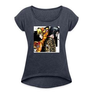 bathing ape - Women's Roll Cuff T-Shirt