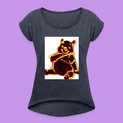 pooh - Women's Roll Cuff T-Shirt