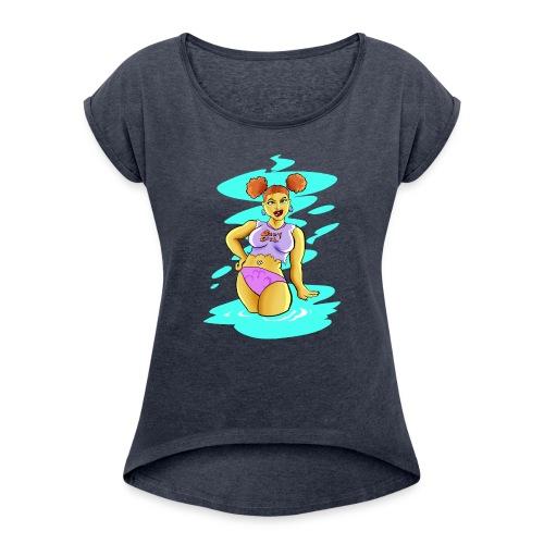 Babygirl! - Women's Roll Cuff T-Shirt