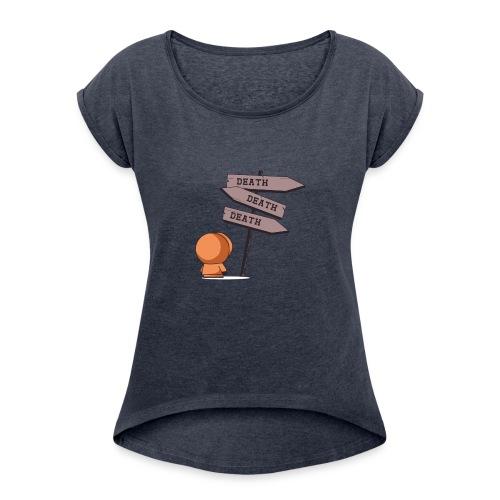 eskimooo - Women's Roll Cuff T-Shirt