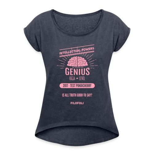 2017 TEST PONDICHERRY - Women's Roll Cuff T-Shirt