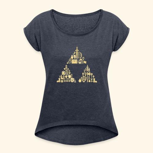 Zelda Triforce - Women's Roll Cuff T-Shirt