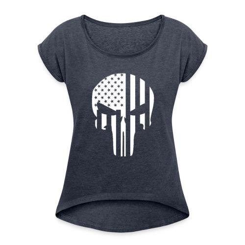punisher - Women's Roll Cuff T-Shirt
