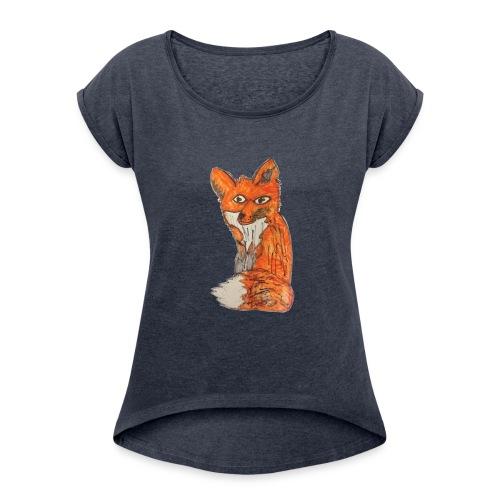 Lexi Revels 3 - Women's Roll Cuff T-Shirt
