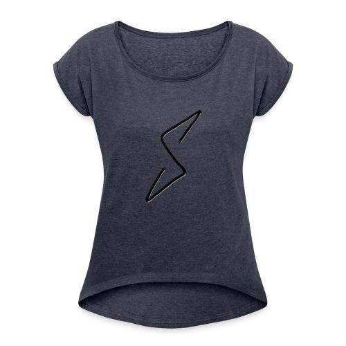Storm Stealth Logo - Women's Roll Cuff T-Shirt