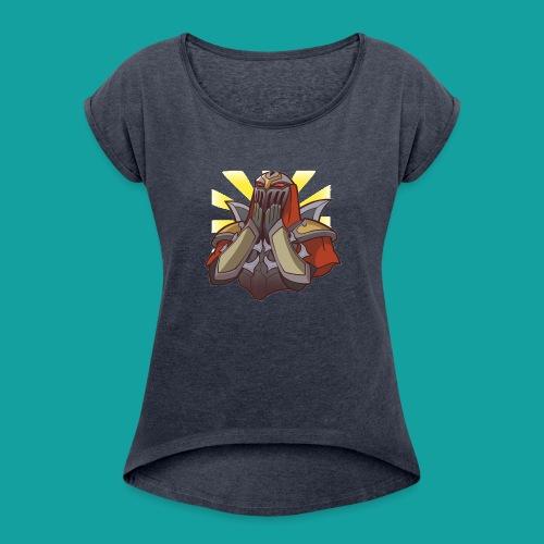 Zed Kawaii - Women's Roll Cuff T-Shirt