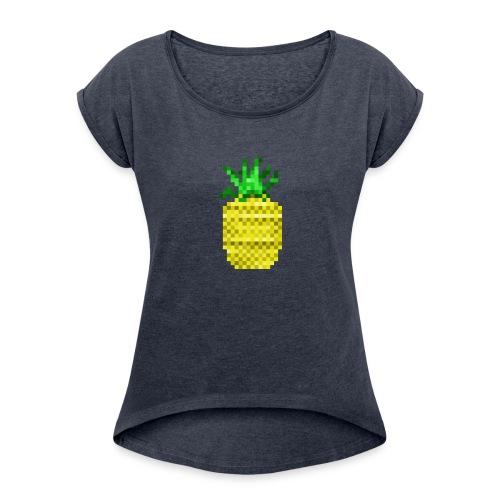 Apple of Pine - Women's Roll Cuff T-Shirt