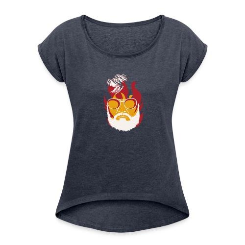 KABALI 02 - Women's Roll Cuff T-Shirt