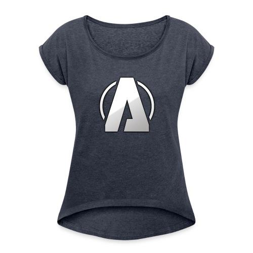 Aiden280zx ( Logo _ - Women's Roll Cuff T-Shirt