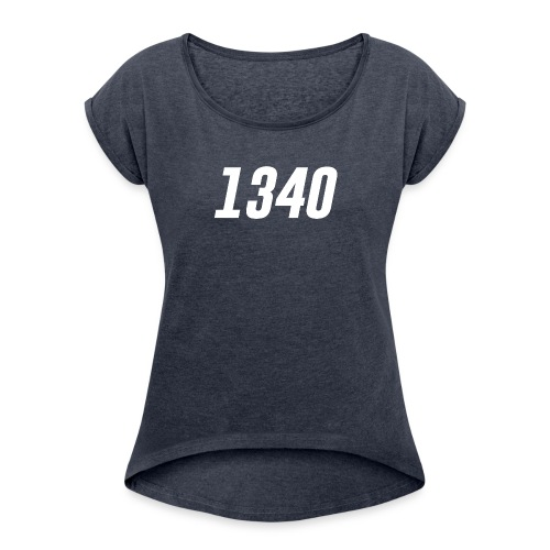 1340 - Women's Roll Cuff T-Shirt