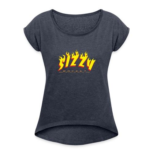 sizzyrocket - Women's Roll Cuff T-Shirt