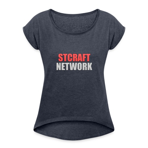 Sweatshirt - Women's Roll Cuff T-Shirt
