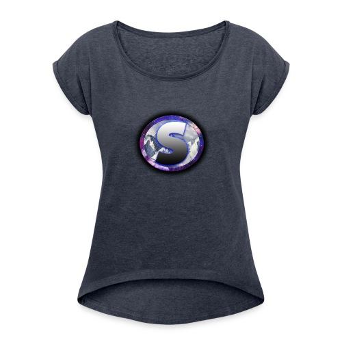 Spass Logo - Women's Roll Cuff T-Shirt