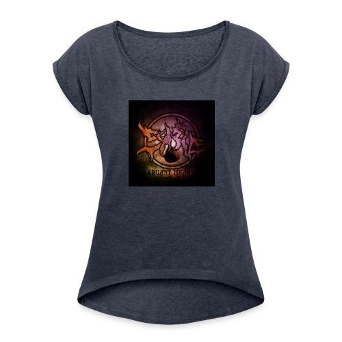 Sykeus Truant Heart - Women's Roll Cuff T-Shirt