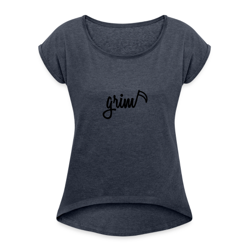 grim - Women's Roll Cuff T-Shirt